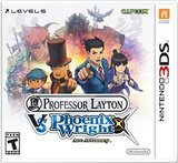 Professor Layton vs. Phoenix Wright: Ace Attorney (Nintendo 3DS)